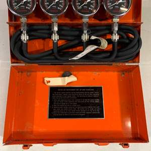 Lot # 109 Kawasaki Vacuum Gauge Set