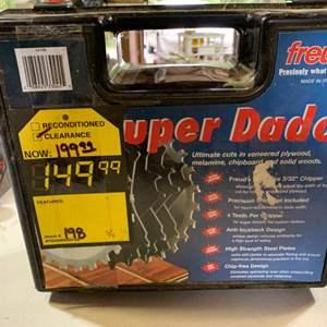 Lot # 112 Freud Super Dado Sawblade Set