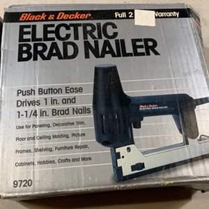 Lot # 135 Black & Decker Electric Brad Nailer