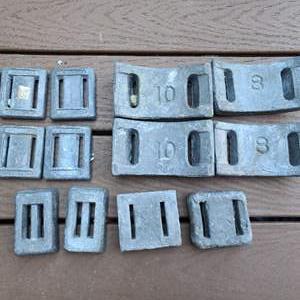Lot # 139 Cement Scuba Weights