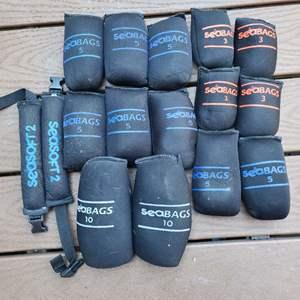 Lot # 140 Sea Bag Scuba Weights