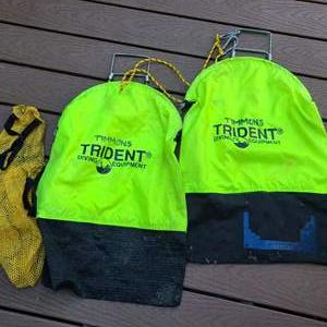 Lot # 147 Trident Diving Equipment Bags