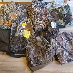Lot # 158 Hunting Clothes