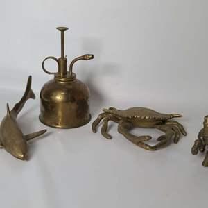 Lot # 184 Brass Trinkets