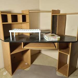 Lot # 189 Corner Desk & More