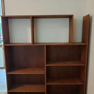 Lot # 191 Bookshelf/Entertainment Stand