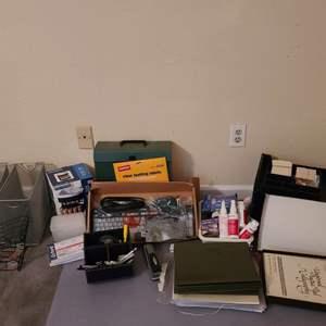 Lot # 197 Assorted Office Supplies