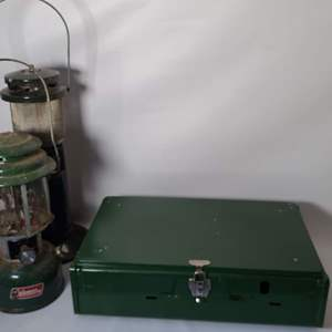 Lot # 210 Coleman Camping Stove & More