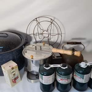 Lot # 211 Camping Cookware & Gear