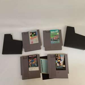 Lot # 219 NES Games