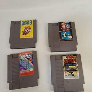 Lot # 220 NES Games