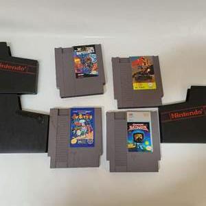 Lot # 221 NES Games