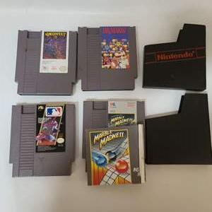 Lot # 222 NES Games