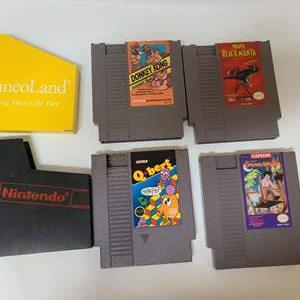 Lot # 223 NES Games