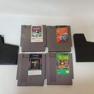 Lot # 224 NES Games