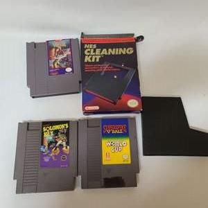 Lot # 225 NES Games