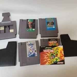 Lot # 226 NES Games