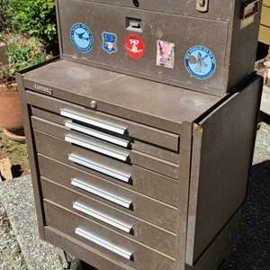 Lot # 232 Kennedy 2 Piece Machinist Tool Box