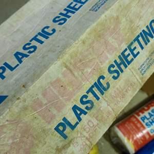 Lot # 241 Rope, Tarp, Plastic Sheeting & More