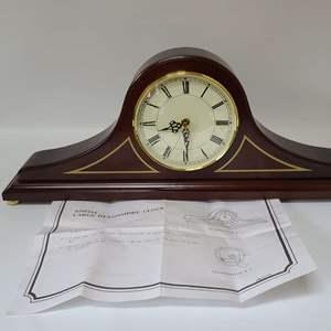 Lot # 273 Bombay Co. Mantel Clock