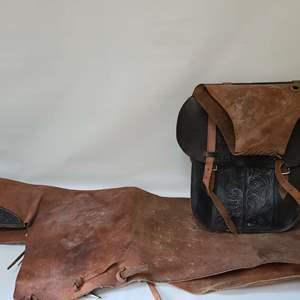 Lot # 301 Chaps & Saddle Bags