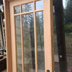 Lot # 302 Glass Door