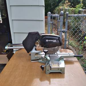 Lot # 73 - Hitachi Slide Compound Saw  Model C 8FB2