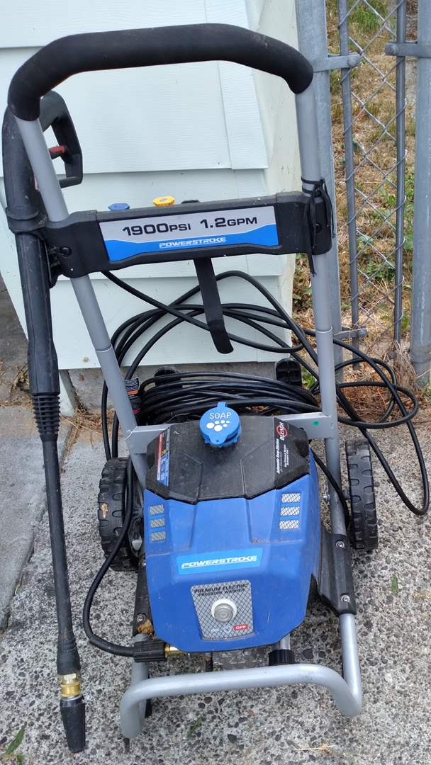 Lot # 78 - POWERSTROKE 1900 PSI Electric 1.2 GPM Pressure Washer (main image)