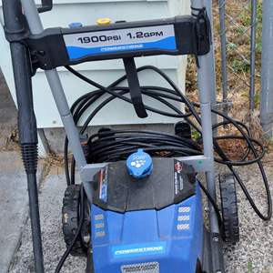 Lot # 78 - POWERSTROKE 1900 PSI Electric 1.2 GPM Pressure Washer