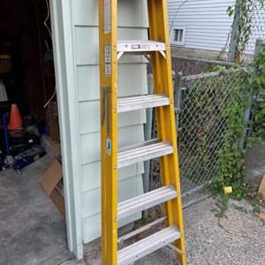 Lot # 87 - Werner 6' Folding Ladder Model 6256