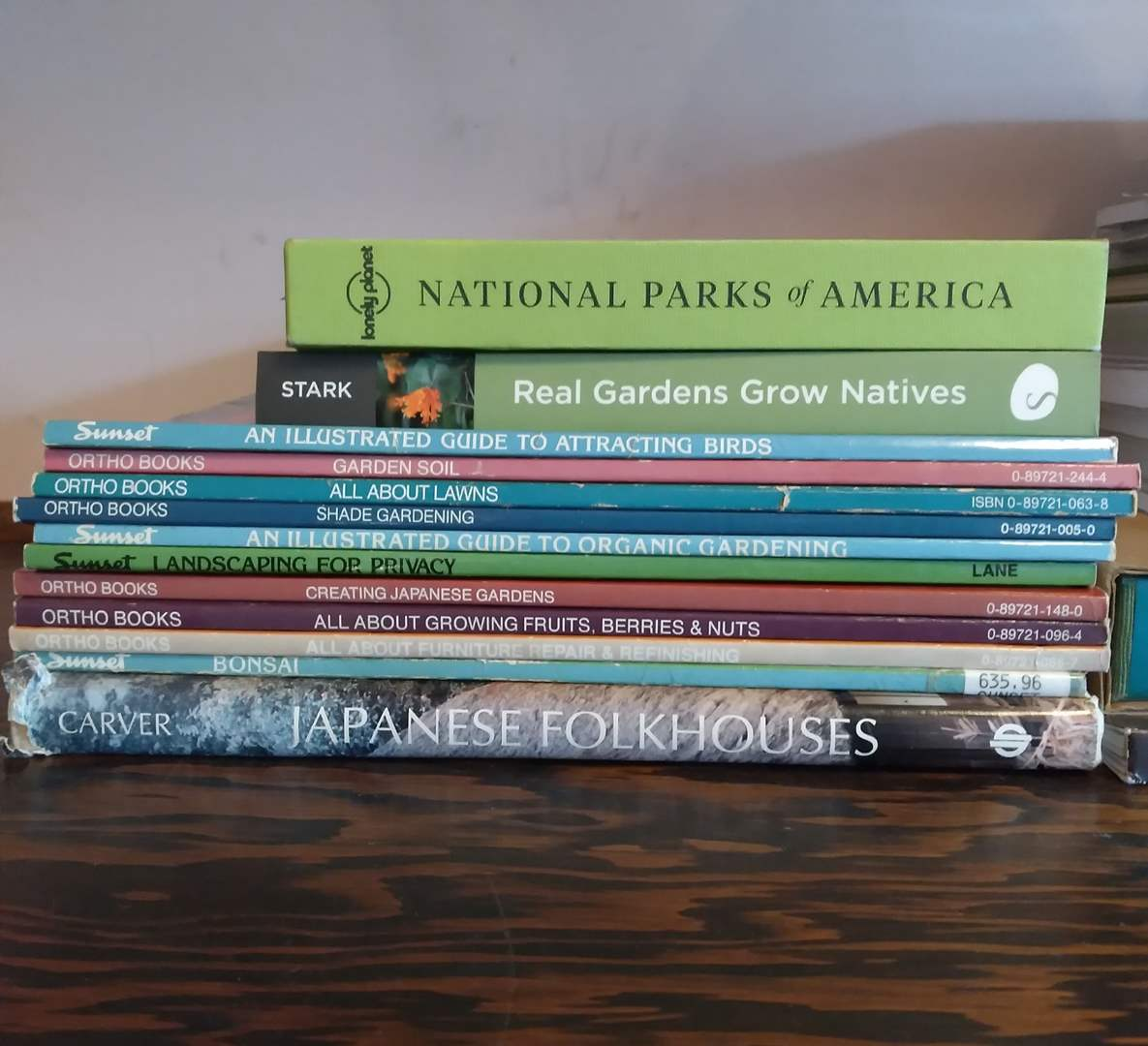 Lot # 127 - Lot of Gardening and National Park Books (main image)