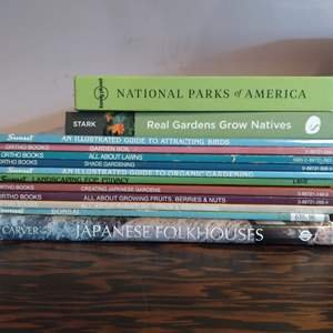 Lot # 127 - Lot of Gardening and National Park Books