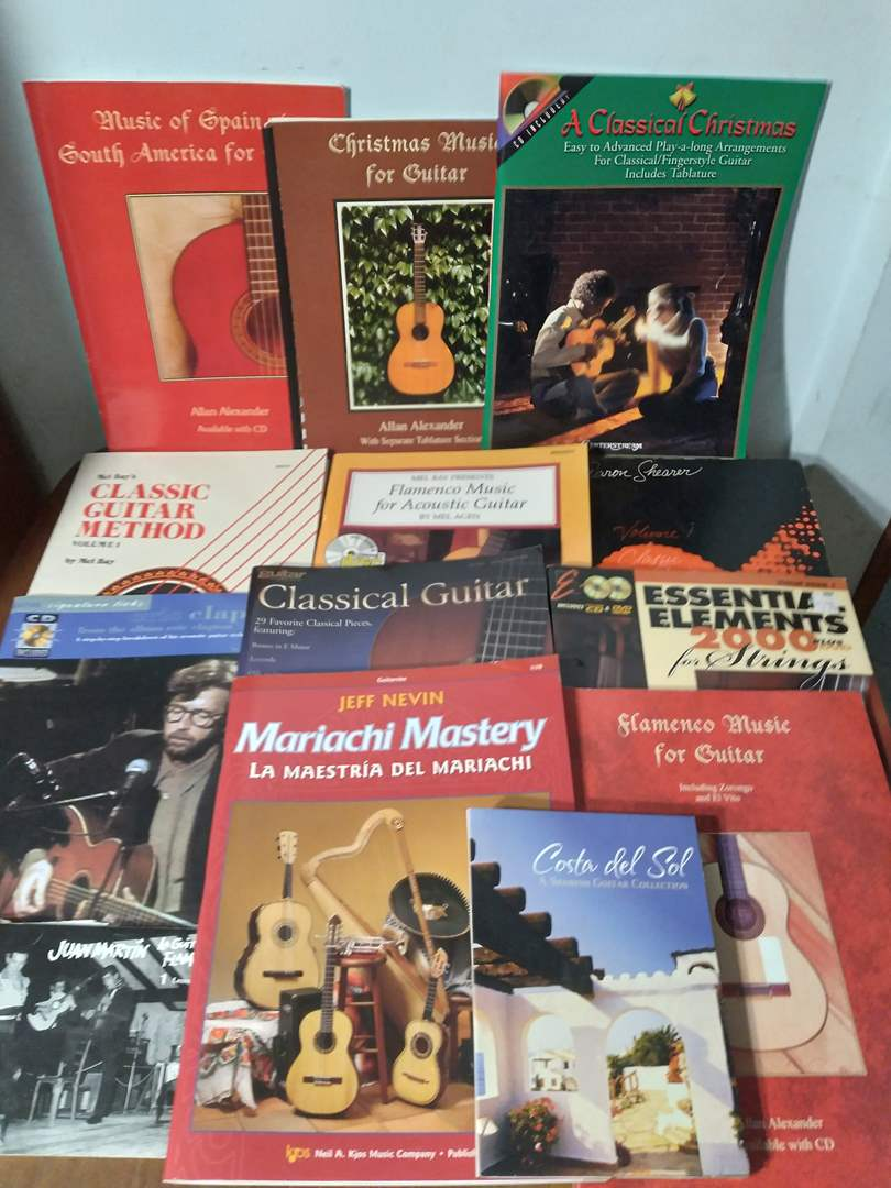 Lot # 132 - Lot of Music and Recording Books (Tabs, songbooks, other)  (main image)