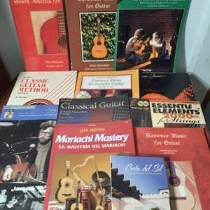 Lot # 132 - Lot of Music and Recording Books (Tabs, songbooks, other)