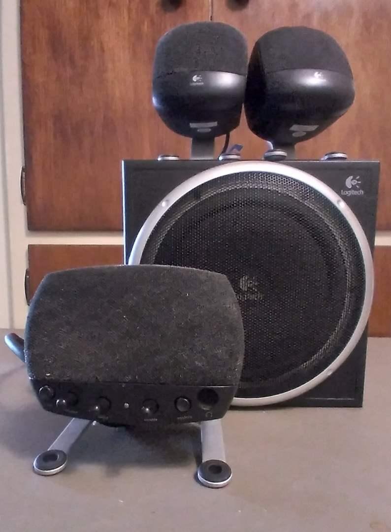 Lot # 135 - Logitech Computer Speakers (main image)