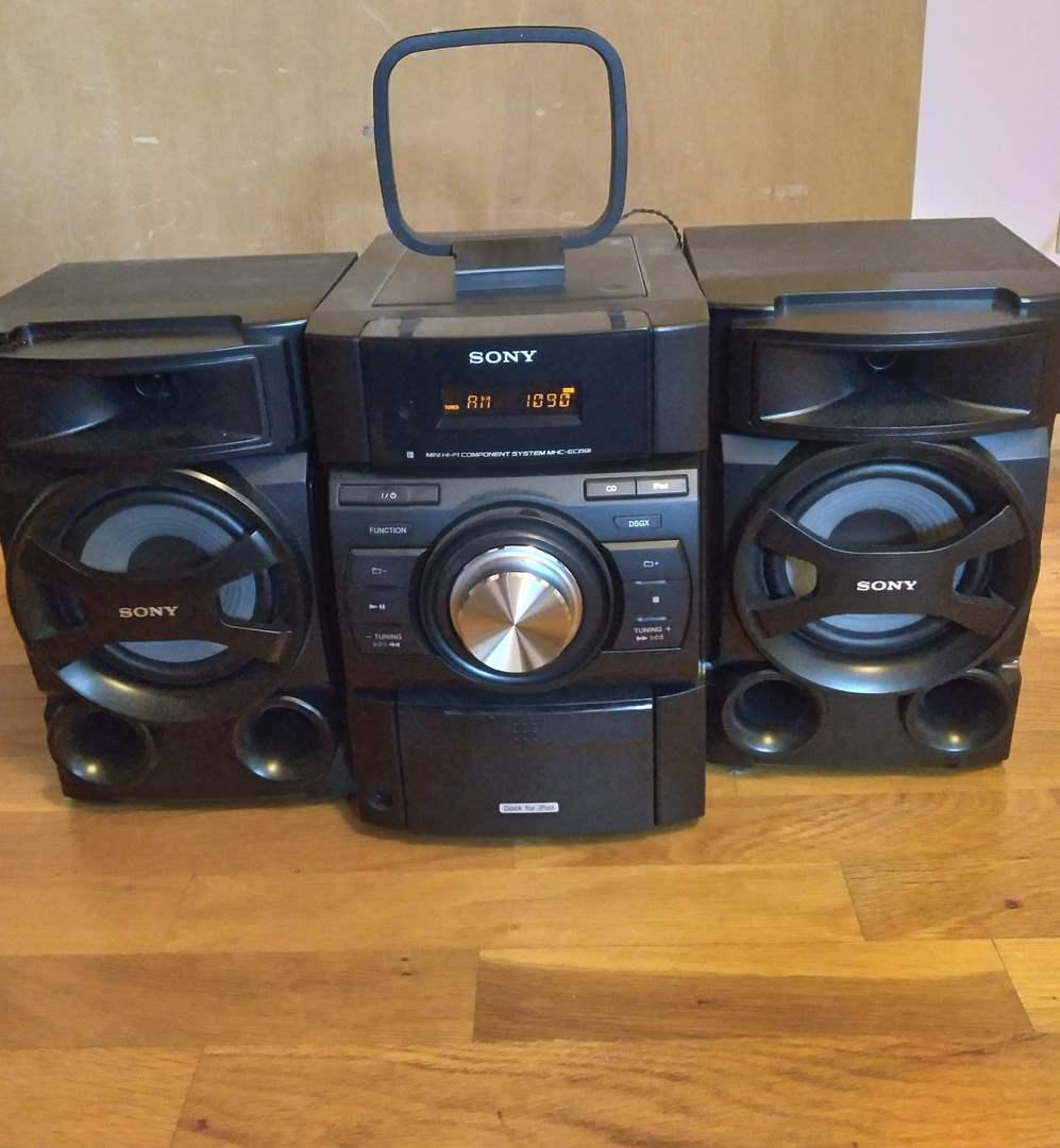 Lot # 138 - Sony Portable Stereo (main image)
