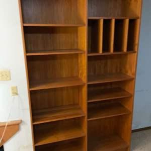 Lot # 10 - Mid Century Modern MCM Bookshelves