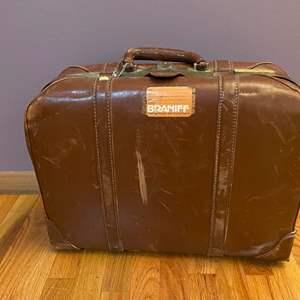 Lot # 28 - Antique Suitcase