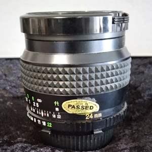 Lot # 39 -Minolta 24mm Lens