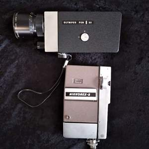 Lot # 42 -8mm Cine Movie Camera (Nikkorex & Olympus)