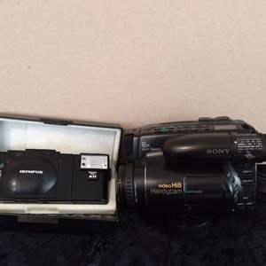 Lot # 43 -Olympus and Sony Cameras