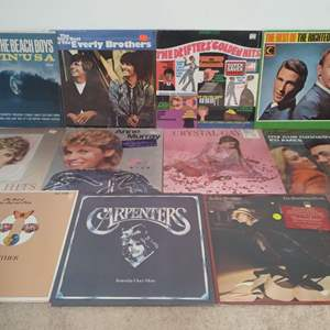 Lot # 46 - Lot of Classic Pop and Folk LP's