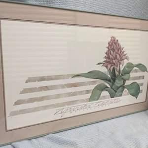 Lot # 62 - Framed Yuriko Takata Watercolor Print