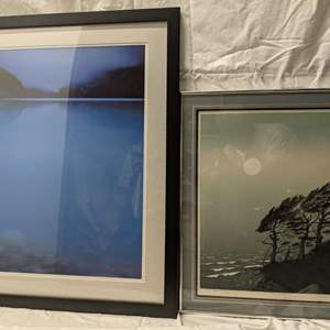 Lot # 65 - Framed and Matted Scenery - David Trusk signed and numbered Print