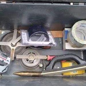 Lot # 81 - Loaded Roughneck Rubbermaid Tool Box