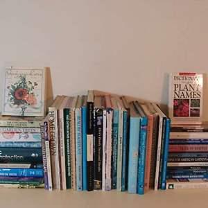 Lot # 106 - Gardening Books Galore