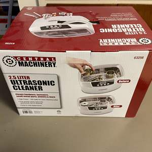 Lot # 144 - Central Machinery Ultra-Sonic Cleaner (NIB)