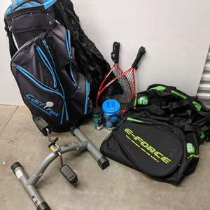 Lot # 159 - Golf and Racket Sports Package