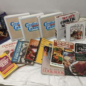 Lot # 167 - Multitude of Cookbooks Package