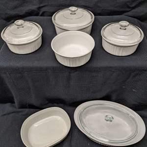 Lot # 172 - CorningWare Lidded Casserole Dishes